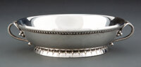 A Georg Jensen No. 158 Silver Bowl Designed by Georg Jensen, Copenhagen, 1919-1927 Marks: 1919, (dotted