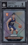 Basketball Cards:Singles (1980-Now), 2015-16 Panini Prizm Devin Booker (Prizms Silver) #308 BGS Mint 9....