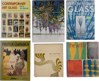 Group of Fifteen Decorative Arts and Graphic Arts Reference Books and Catalogues, late 20th-early 21st century  ... (Tot...