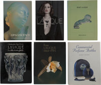 Group of Twenty-Nine Art Glass and Decorative Arts Reference Books and Catalogues, late 20th-early 21st century  ... (To...