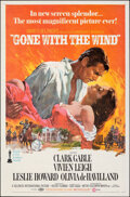 """Movie Posters:Academy Award Winners, Gone with the Wind (MGM, R-1968). Folded, Very Fine-. One Sheet (27"""" X 41"""") Howard Terpning Artwork. Academy Award Winners...."""