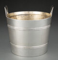 Silver & Vertu, A Tiffany & Co. Silver Two-Handled Ice Bucket, New York, late 20th century. Marks: TIFFANY & CO, MAKERS, STERLING SILVER, ...