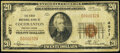 National Bank Notes:Pennsylvania, Cochranton, PA - $20 1929 Ty. 1 The First National Bank Ch. # 4971 Very Good.. ...