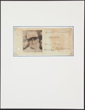 Autographs:Others, Mickey Cochrane Signed Cut. ...