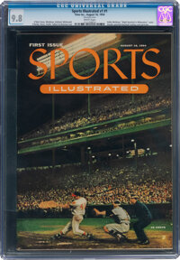 1954 Sports Illustrated #1 CGC 9.8--Finest Known!