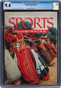 1954 Sports Illustrated Second Issue CGC 9.4 - Population of 5 with None Higher!