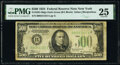 Small Size:Federal Reserve Notes, Fr. 2201-B $500 1934 Dark Green Seal Federal Reserve Note....