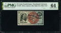 Fractional Currency:Fourth Issue, Fr. 1269 15¢ Fourth Issue PMG Choice Uncirculated 64.. ...