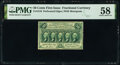 Fractional Currency:First Issue, Fr. 1310 50¢ First Issue PMG Choice About Unc 58.. ...