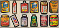 Non-Sport Cards:Lots, 1973 - 1974 Topps & Wonderbread Wacky Packages (Series 1 - 10) Collection (891). ...