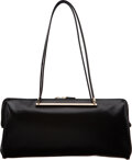 """Luxury Accessories:Bags, Gucci Black Leather Shoulder Bag. Condition: 3. 12"""" Width x 6"""" Height x 2"""" Depth. ..."""