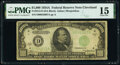 Small Size:Federal Reserve Notes, Fr. 2212-D $1,000 1934A Federal Reserve Note. PMG Choice Fine 15.. ...
