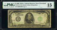 Fr. 2212-D $1,000 1934A Federal Reserve Note. PMG Choice Fine 15