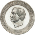 Political:Tokens & Medals, George B. McClellan: High Relief Medal by Lovett. ...