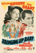 Movie Posters:Comedy, Bringing Up Baby (RKO, 1938). Fine+ on Linen. One ...
