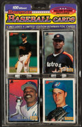 Baseball Cards:Unopened Packs/Display Boxes, 1993 Bowman Baseball Unopened Blister Pack of 100 Different Cards. ...