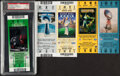 Football Collectibles:Tickets, 2003-2007 Super Bowl Full Tickets, Lot of 5....