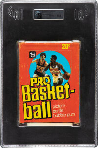 1978 Topps Basketball Box With 36 Unopened Packs GAI NM-MT+ 8.5