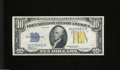 Small Size:World War II Emergency Notes, Fr. 2309 $10 1934-A North Africa Silver Certificate. Gem ...