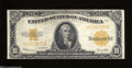 Large Size:Gold Certificates, Fr. 1173 $10 1922 Gold Certificate Very Fine+. This snappy ...