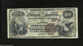 National Bank Notes:Pennsylvania, Pittsburgh, PA - $10 1882 Brown Back Fr. 487 The ...