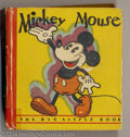 Platinum Age (1897-1937):Miscellaneous, Mickey Mouse Big Little Book #717 (Whitman, 1933) Condition: VG. This is the second version of the very first Mickey Mouse B...
