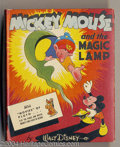 Golden Age (1938-1955):Cartoon Character, Mickey Mouse and the Magic Lamp Better Little Book #1429 (Whitman, 1942) Condition: NM-. Mickey gets his wish granted, court...