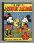 Platinum Age (1897-1937):Miscellaneous, Mickey Mouse (The Story Of) Big Big Book #4062A (Whitman, 1935)Condition: FN+. If the tininess of the Big Little Books is a...