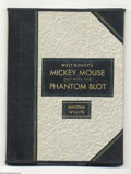 Memorabilia:Miscellaneous, Mickey Mouse Outwits the Phantom Blot Four Color Series 1, #16 Specially Bound Volume (Dell, 1941). Fandom owes a debt of gr...