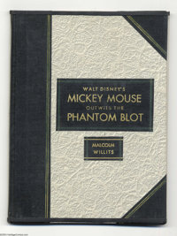 Mickey Mouse Outwits the Phantom Blot Four Color Series 1, #16 Specially Bound Volume (Dell, 1941). Fandom owes a debt o...