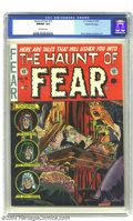 Golden Age (1938-1955):Horror, The Haunt of Fear #15 Gaines File pedigree 7/12 (EC, 1952) CGCNM/MT 9.8 Off-white pages. Here's one of the highest-graded e...