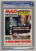 Magazines:Humor, Mad Special #7 (EC, 1972) CGC NM+ 9.6 Off-white to white pages.Eight shocking message mini-posters (look at the heroin O.D....