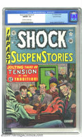 Golden Age (1938-1955):Horror, Shock SuspenStories #1 Gaines File pedigree 3/11 (EC, 1952) CGCNM/MT 9.8 Off-white to white pages. Only one copy of this cl...