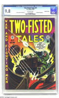 Golden Age (1938-1955):War, Two-Fisted Tales #27 Gaines File pedigree 3/10 (EC, 1952) CGC NM/MT 9.8 Off-white pages. The condition of the Gaines File bo...