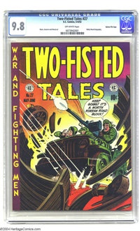 Two-Fisted Tales #27 Gaines File pedigree 3/10 (EC, 1952) CGC NM/MT 9.8 Off-white pages. The condition of the Gaines Fil...