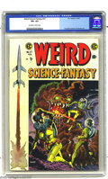 Golden Age (1938-1955):Science Fiction, Weird Science-Fantasy #27 (EC, 1955) CGC VF+ 8.5 Off-white to whitepages. Within the pages of this title, a melding of form...