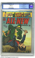 Golden Age (1938-1955):Superhero, All-New Comics #13 Rockford pedigree (Harvey, 1946) CGC NM- 9.2 Cream to off-white pages. This issue of Harvey's All-New C...