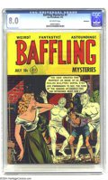 Golden Age (1938-1955):Horror, Baffling Mysteries #9 Bethlehem pedigree (Ace, 1952) CGC VF 8.0Off-white pages. A certificate of authenticity from the Beth...