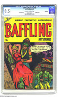 Golden Age (1938-1955):Horror, Baffling Mysteries #20 Bethlehem pedigree (Ace, 1954) CGC VF+ 8.5Off-white to white pages. Bondage cover. Lou Cameron art. ...