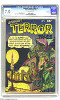 Golden Age (1938-1955):Horror, Beware Terror Tales #2 Bethlehem pedigree (Fawcett, 1952) CGC FN/VF7.0 Off-white pages. Bernard Baily cover. Bob Powell and...