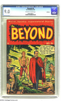 Golden Age (1938-1955):Horror, The Beyond #6 Bethlehem pedigree (Ace, 1951) CGC VF/NM 9.0Off-white to white pages. This is the highest-graded copy ofthis...
