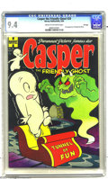 Golden Age (1938-1955):Humor, Casper the Friendly Ghost #20 File Copy (Harvey, 1954) CGC NM 9.4 Cream to off-white pages. Wendy the Good Little Witch, who...