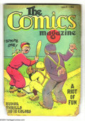Platinum Age (1897-1937):Miscellaneous, The Comics Magazine #1 (Comics Magazine, 1936) Condition: FR. Thisunusually rare comic -- redubbed Funny Pages with its...