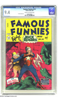 Golden Age (1938-1955):Science Fiction, Famous Funnies #211 (Eastern Color, 1954) CGC NM 9.4 Cream tooff-white pages. Did you know that Frank Frazetta's Buck Roger...