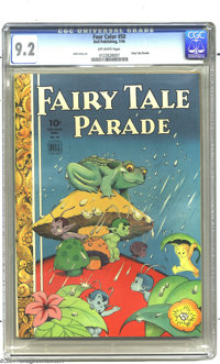 Four Color #50 Fairy Tale Parade (Dell, 1944) CGC NM- 9.2 Off-white pages. Walt Kelly art. To date, only one copy of thi...