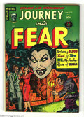 Golden Age (1938-1955):Horror, Journey Into Fear #6 Bethlehem pedigree (Superior, 1952) Condition:VF/NM. Bright cover gloss makes the endearingly garish c...