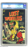 Golden Age (1938-1955):Science Fiction, Lost Worlds #5 White Mountain pedigree (Standard, 1952) CGC VF 8.0White pages. Formerly Weird Tales of the Past and Futur...