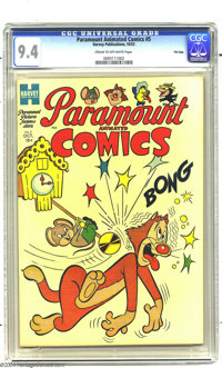 Paramount Animated Comics #5 File Copy (Harvey, 1953) CGC NM 9.4 Cream to off-white pages. Herman and Katnip are cover-f...