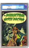 Golden Age (1938-1955):Horror, The Phantom Witch Doctor #1 Northford pedigree (Avon, 1952) CGC VF8.0 Cream to off-white pages. An eerily moody cover by Ra...