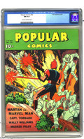 """Bronze Age (1970-1979):Miscellaneous, Popular Comics #52 (Dell, 1940) CGC NM 9.4 Cream to off-whitepages. This issue is billed by Overstreet as having a """"robot c..."""